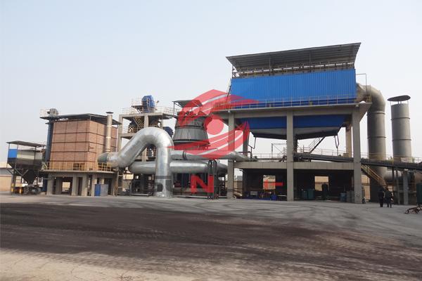 章丘锦屏30万吨矿渣微粉项目