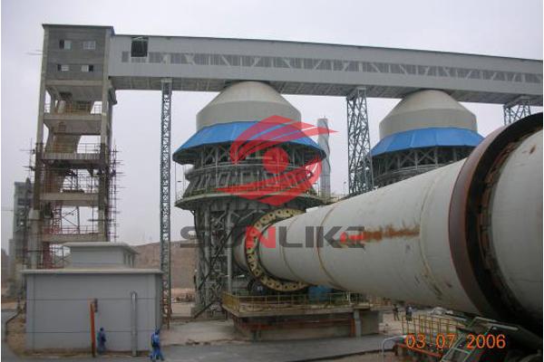 新疆800吨石灰生产线