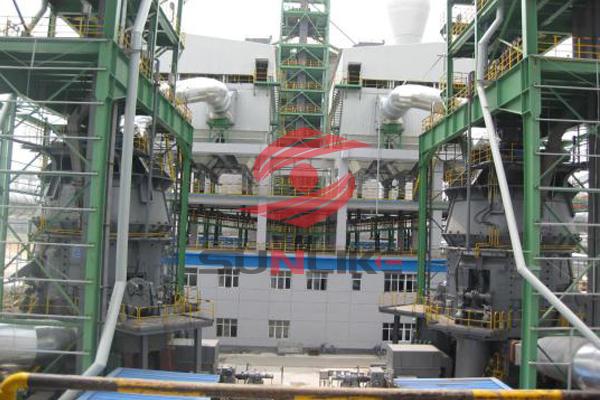 河北纵横260万吨矿渣微粉生产线